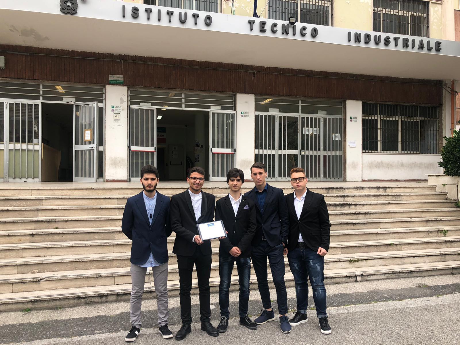 """Primo Premio al """"III Simposio Internazionale sul Volo Ipersonico"""""""