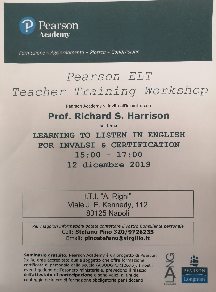 Pearson  Elt Teacher Training Workshop
