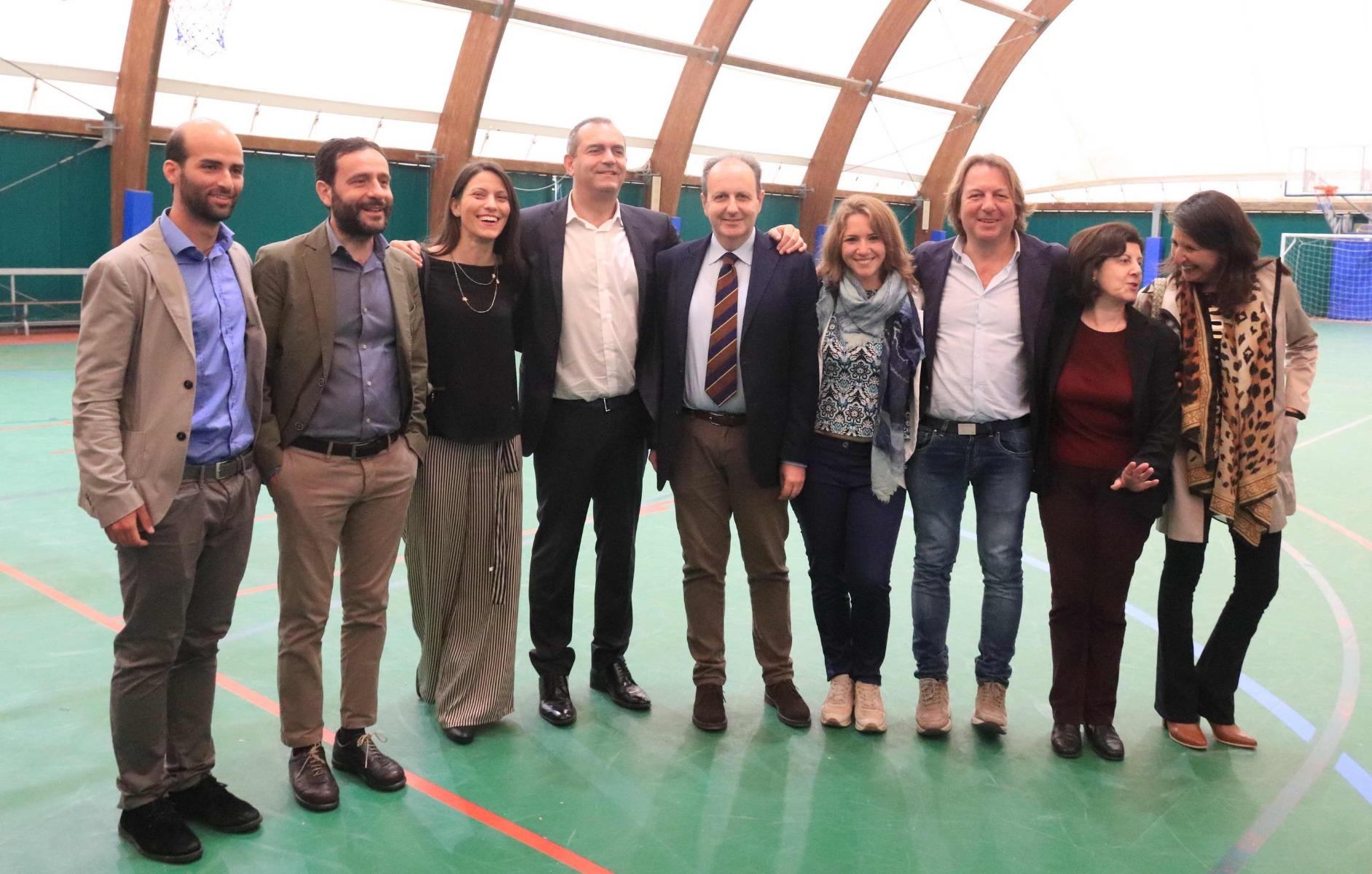PROGETTO FOLLOW THE SUN PER SKYSEF 2019 : IL SINDACO IN VISITA AL RIGHI  INCONTRA GLI STUDENTI DEL R [..]