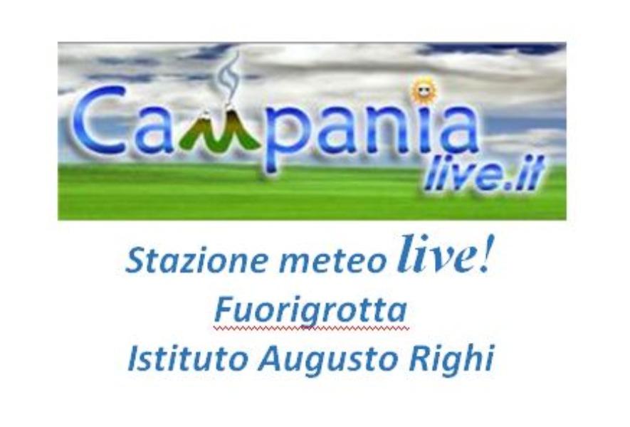 Stazione meteo live! Fuorigrotta Istituto Augusto Righi