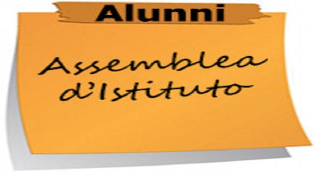 Assemblea d' Istituto 21 gennaio 2020