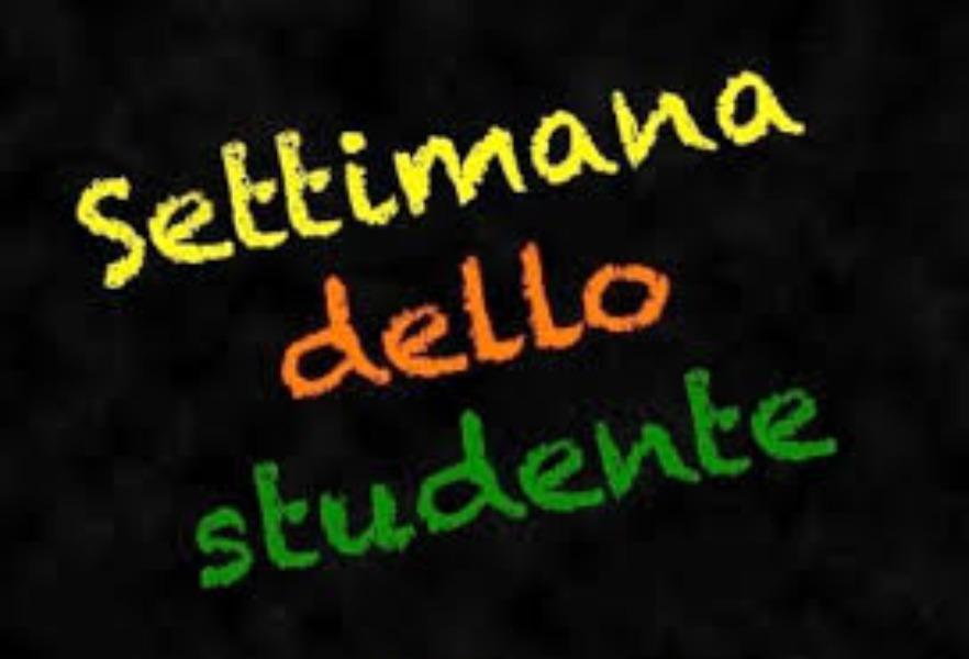 SETTIMANA DELLO STUDENTE  8,9,10  GENNAIO 2020